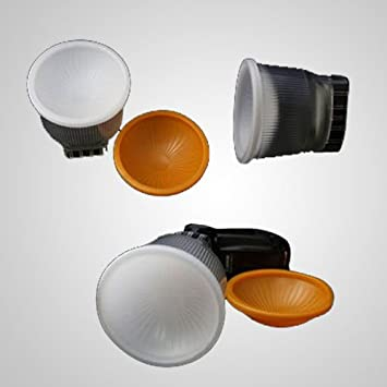 Mcoplus - profesional Lambency difusor de flash/flashbounce/difusor para Nikon SB600/SB800 sb800dx/SB28/SB28DX/sb50dx Sunpak 4400 ...