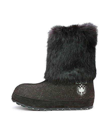 ZDAR Winter Boots for Women Nikita Low Coffee
