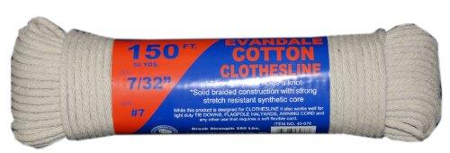 tw-evans-cordage-43-076-7-32-inch-evandale-cotton-clothesline-150-feet-hank