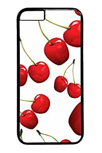 iPhone 6 Case,Cherries8 PC case Cover for iPhone 6 Black by Maris's Diary