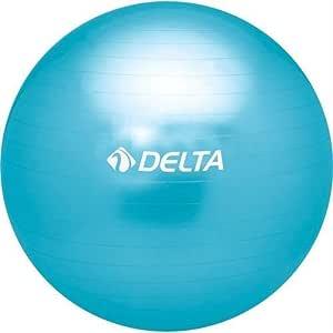 Delta Unisex Pilates Egzersiz Topu Pmt 30, Mavi, 30Cm