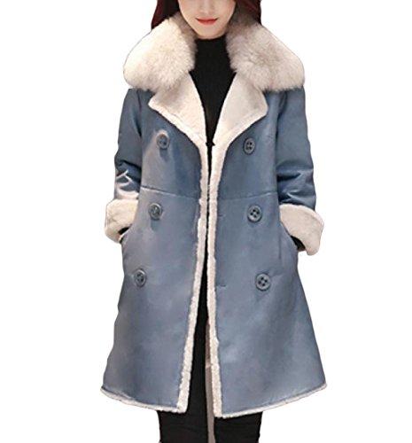 Fur Velvet Coat - 6