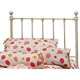 Hillsdale Molly Twin Metal Headboard without Bed Frame, White