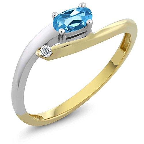 2 Tone Yellow Natural Diamond Available