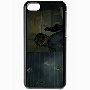 Personalized iPhone 5C Cell phone Case/Cover Skin Resident Evil 6 Black