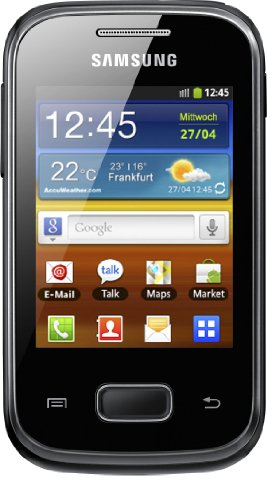 Samsung Electronic GmbH Galaxy Pocket Black (Samsung Pocket S5300 compare prices)