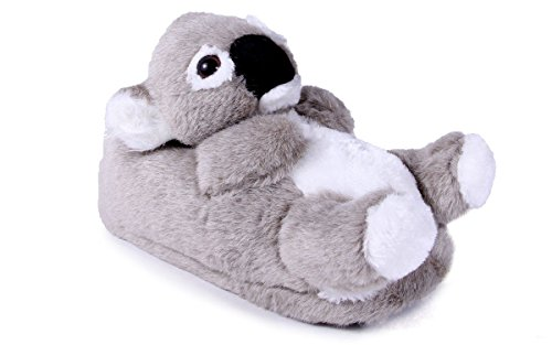 9033-1 - Koala - Small - Happy Feet Animal Slippers