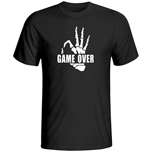 OKnown Design Game Over Mens T-Shirt for Under New Management Eat Sleep Game Wedding (New Sleep Tee)