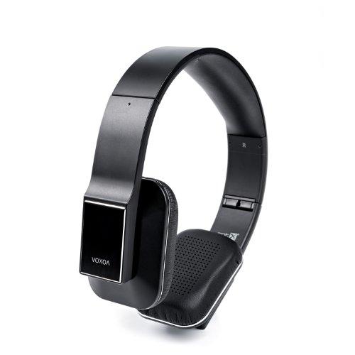 VOXOA HD Wireless Stereo Headphones Bluetooth 4.0, aptX, AAC, NFC, HD Audio - Black