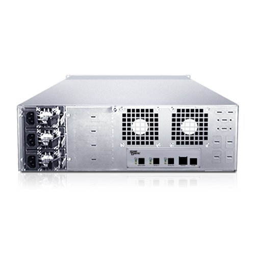 Sans Digital EliteSTOR - 3U 16 Bay 12G SAS/SATA to SAS JBOD with 12G SAS Expander Rackmount (ES316X12) by Sans Digital