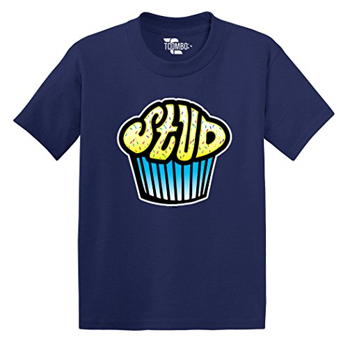 Stud Muffin - Toddler Little Boy/Infant T-Shirt (3T, Navy Blue)