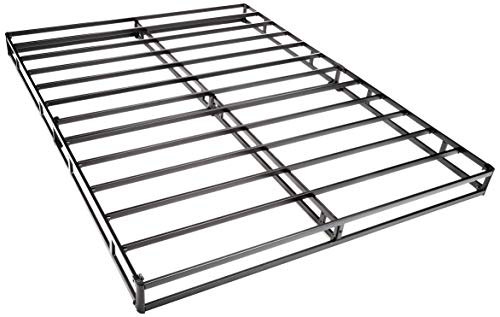 AmazonBasics Mattress Foundation / Smart Box Spring for Queen Size Bed, Tool-Free Easy Assembly - 5-Inch, Queen