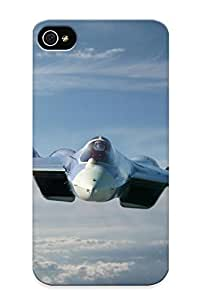 D18fc391614 Premium Sukhoifighter Jet Military Airplane Plane Stealth Pakrussian (39) Back Cover Snap On Case For Iphone 4/4s