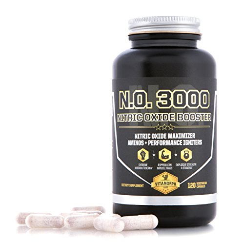 Vitamorph Labs N.O. 3000 Nitric Oxide Booster for Lean Muscl