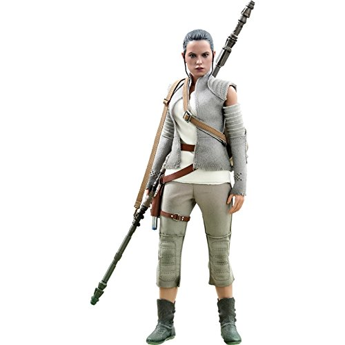 (Hot Toys Star Wars Episode VII The Force Awakens Rey (Resistance Outfit) 1/6 Scale Figure)