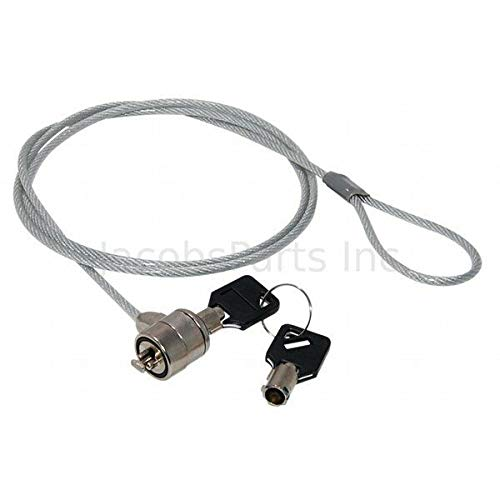 Lot 10 - Laptop Notebook Security Chain Cable with Key Lock