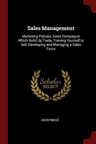 Sales Management Pdf Books