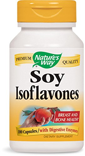 Nature's Way Soy Isoflavones with Digestive Enzymes, 100 Count