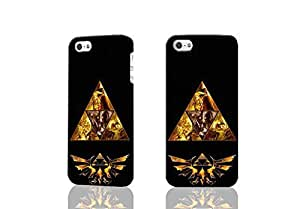 Legends Of Zelda Triforce Cool 3D Rough Case Skin, fashion design image custom , durable hard 3D case cover for iPhone 4 4S , Case New Design By Codystore