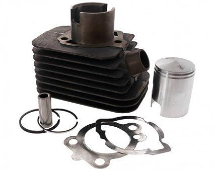 2EXTREME Kit Cilindro 50ccm 12mm Perno del pistone per Piaggio, Vespa Ciao 4010602
