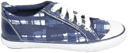 Coach Signature Barrett Poppy Brush Sneakers Navy Multi [Apparel]