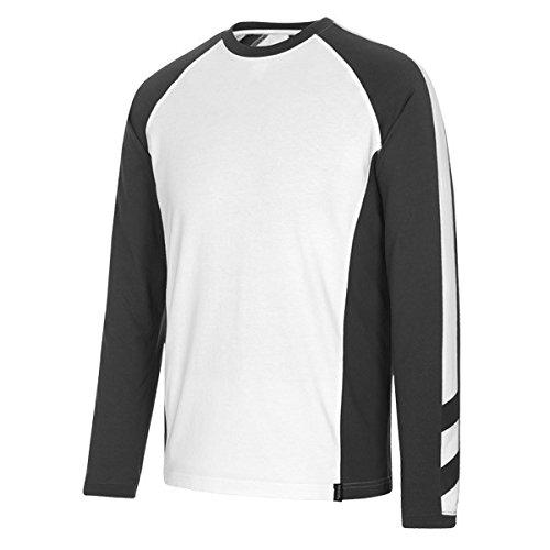 "Mascot T-shirt ""Bielefeld"", 1 Stück, S, weiß/dunkelanthrazit, 50504-250-0618-S"