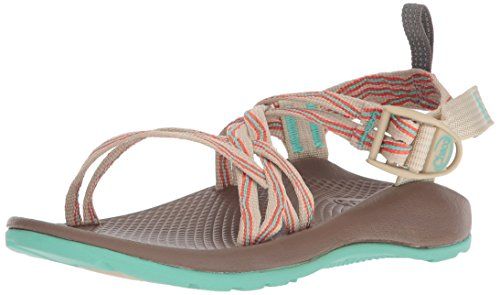 Chaco Girls' ZX1 Ecotread Sport Sandal, Venice Opal, 3 Medium US Little Kid ()