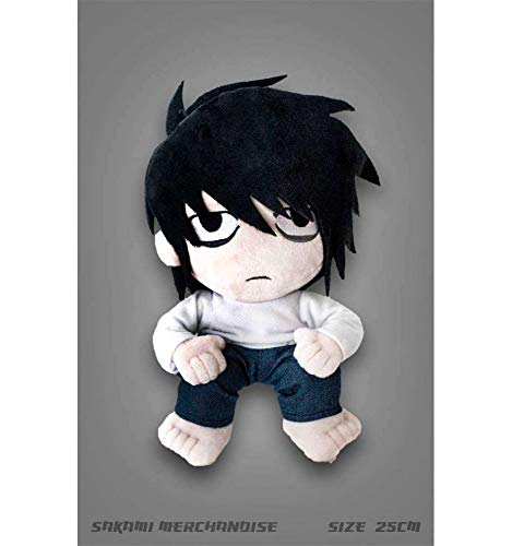 Death Note L Plush Figure (25 cm) – Original & (Death Note Kira Game)
