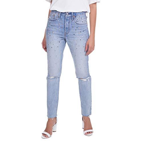 Calça Jeans Levis Feminino 501 Skinny Clara