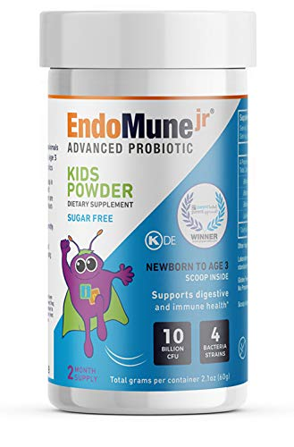 Cheap EndoMune Junior Advanced Powder Probiotic for Kids | Professionally Formulated to Promote Digestive Health, Healthy Gut and Naturally Boost Immunity