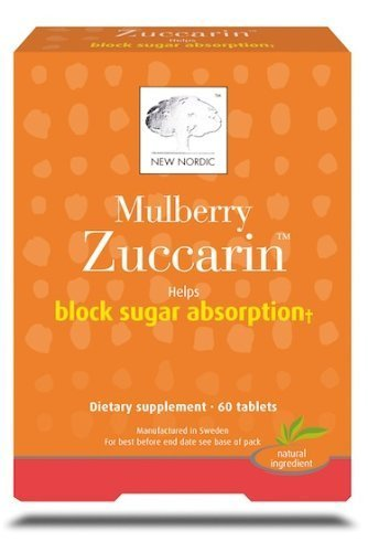 New Nordic Mulberry Zuccarin, 60 Tablets (Pack of 6) by New Nordic (Image #1)