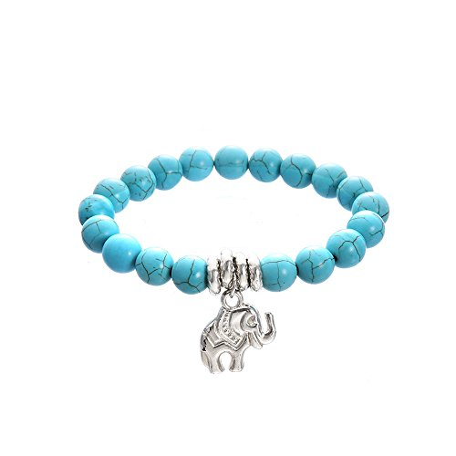 URYKEE Chain Elephant Anklet Jewelry Foot Chain Beach Section Anklets Chain Beads Boho Foot Gothic Bohemian Foot Jewelry for Women Girls