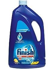 Finish Dishwasher Detergent, 2 in 1 Gel, Lemon, 2.6 L
