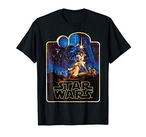Star Wars Vintage Poster Art Graphic T-Shirt