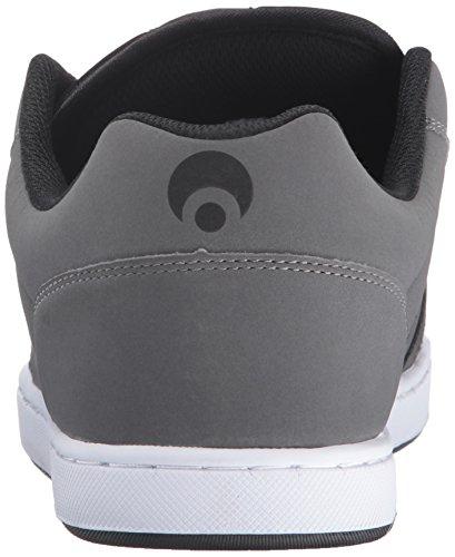 Osiris Männer Beute Skate Schuh Kohle / Weiß / Schwarz