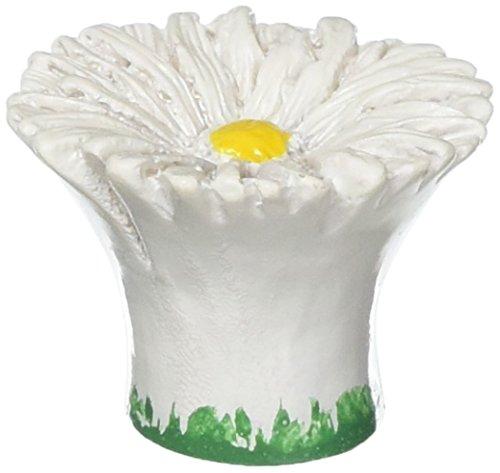 Siro Designs SD101-112 Daisy Knob, 1.5-Inch, White (Flower Petal Knob Design)