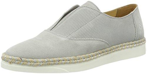 Marc OPolo Damen 70113993201300 Loafer Slipper Grau (Stone)