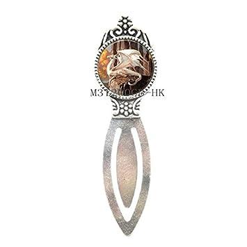 W1 Dragon Bookmark//Wolf Bookmark//Brass Dragon Bookmark//Fantasy Dragon Bookmark//Fantasy Jewelry//Dragon Jewelry-MT122