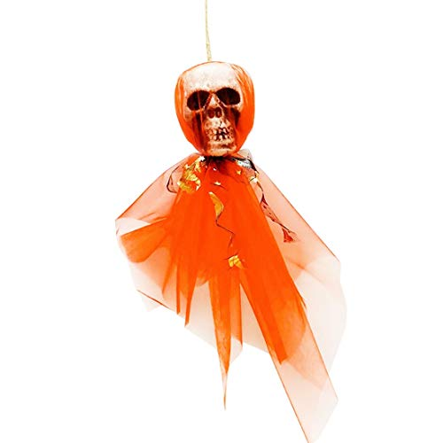Party Diy Decorations - Diy Halloween Hanging Decoration Horror Skull Ornaments Prop Bone Head Home Theme Party - Decorations Party Party Decorations Horror Wallpaper Decor Halloween Skull ()