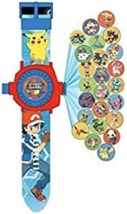 OYW LED digital 24 projector Pokemon Go cartoon watch children wristwatches clock girl gift baby toys