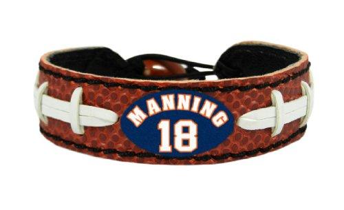- GameWear Denver Broncos Peyton Manning Classic Football Bracelet