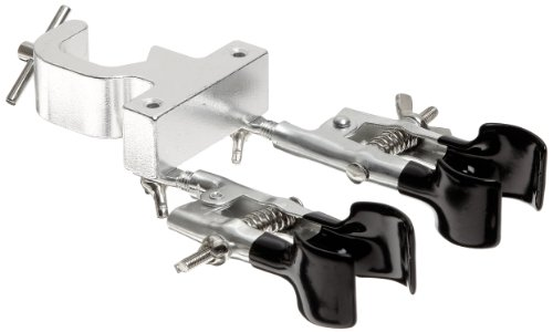 American Educational Double Burette Clamp with Rubber-Coated Rotating Jaws, 3/8' - 1-3/8' Holding Size