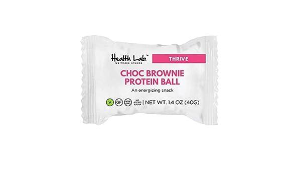 Health Lab Prolifera la bola de proteína de brownie de cacao - a ...