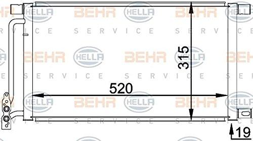 air conditioning BEHR HELLA SERVICE 8FC 351 038-214  Condenser