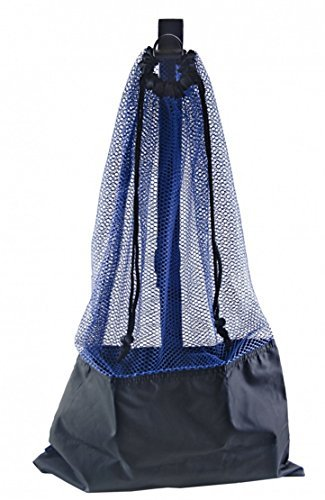 ScubaMax BLUE SNORKEL BAG! MESH DRAW STRING W/SHOULDER STRAP
