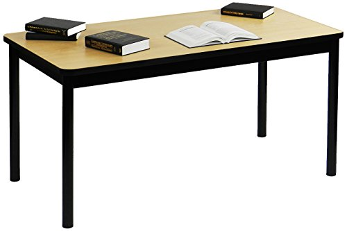 Correll LR3060-16 Office and Library Work Table, Rock Solid Commercial Quality, 30