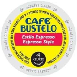 Café Bustelo Espresso Style Dark Roast Coffee (96 Count)