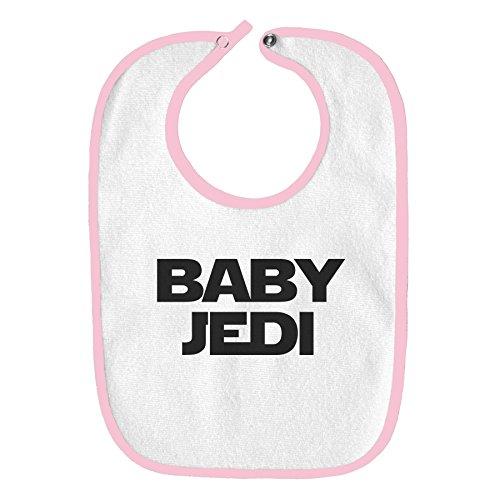 Baby Jedia Star Wars - Babero para bebé, Rosado claro, Talla única