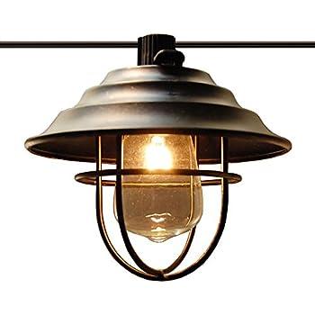 Amazon Com Patio String Lights Oil Lantern Style Indoor