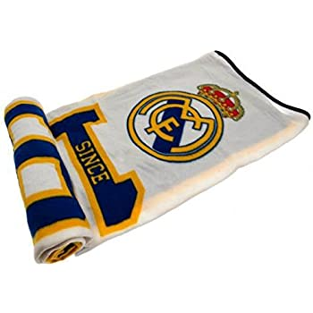 """FCBarcelona Silk Touch Sherpa Lined Throw Blanket 50x60"""" 80%OFF"""